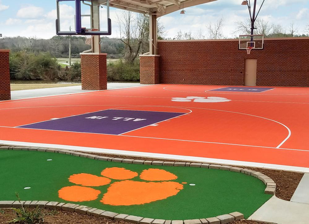 Clemson Basketball Court