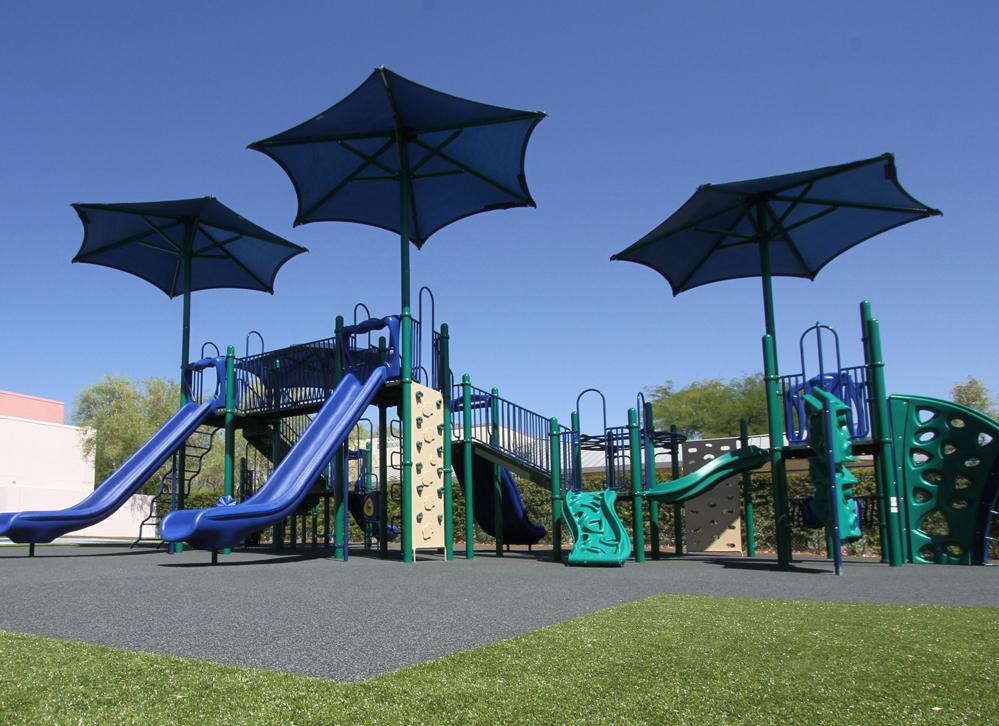 Meadows PIP Playground Surfacing