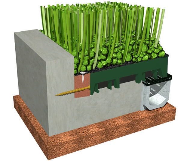 XGrass Water Play Cross Section