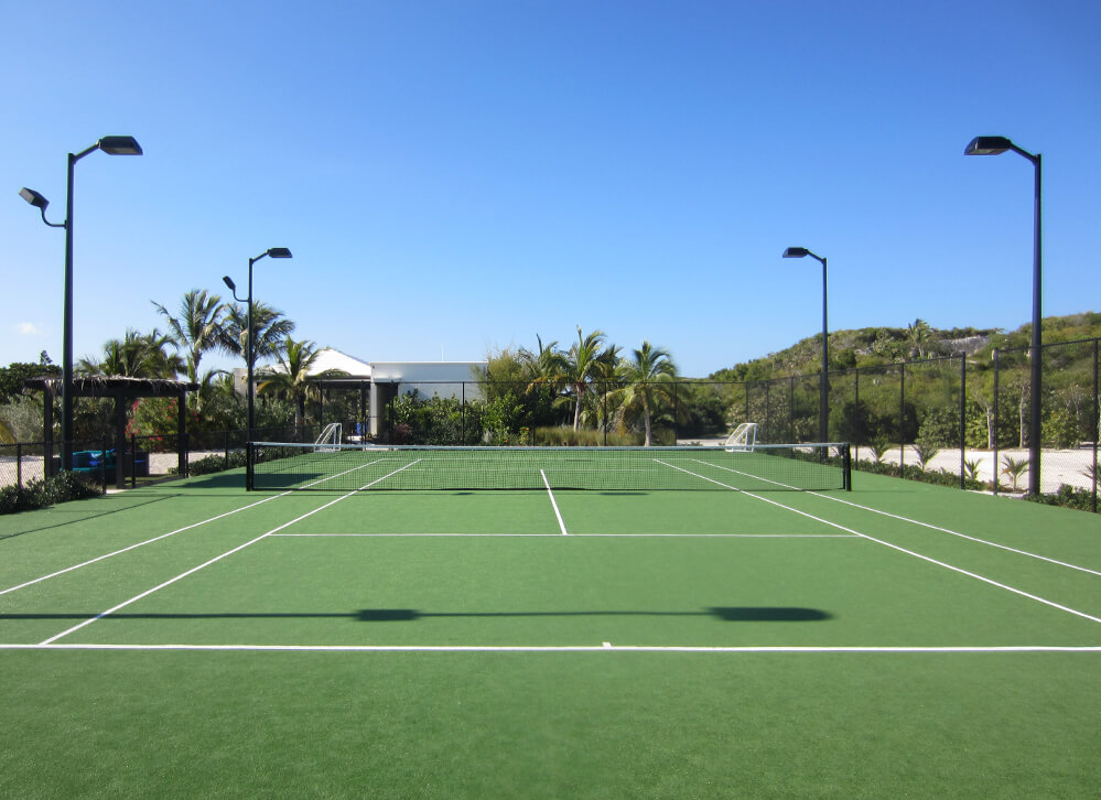 XGrass Artificial Grass Tennis Court