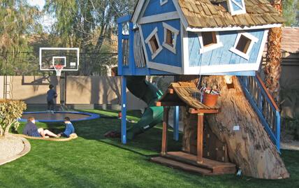 XGrass Backyard Play Turf, Playground turf, artificial playground turf, artificial turf on playground, artificial grass, artificial turf playground surfaces