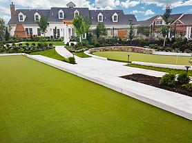 Artificial Grass Bocce Court & Putting Green