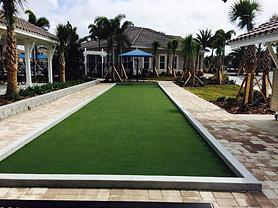 Synthetic Grass Bocce Court Surfacing