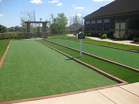 Artificial Grass Bocce Court Surfacing